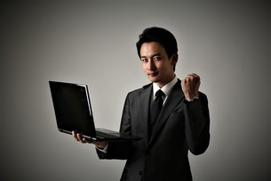 日本人ビジネスマンの写真素材 [FYI04618577]