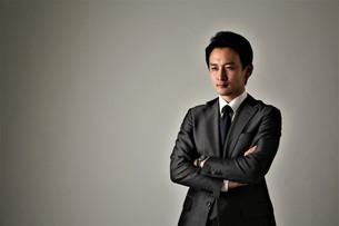 日本人ビジネスマンの写真素材 [FYI04618579]