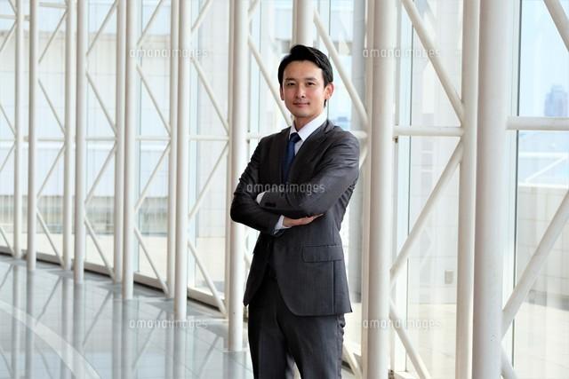 日本人ビジネスマンの写真素材 [FYI04618737]