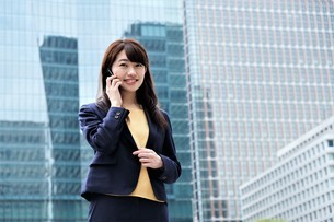 日本人ビジネスウーマンの写真素材 [FYI04618807]