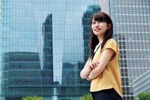 日本人ビジネスウーマンの写真素材 [FYI04618814]