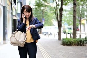 日本人ビジネスウーマンの写真素材 [FYI04618920]