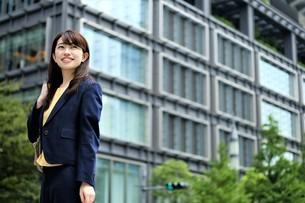 日本人ビジネスウーマンの写真素材 [FYI04618947]