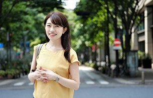 日本人ビジネスウーマンの写真素材 [FYI04618970]