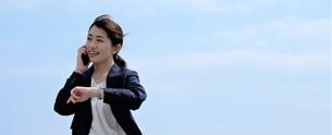 日本人ビジネスウーマンの写真素材 [FYI04619080]