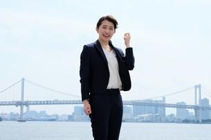 日本人ビジネスウーマンの写真素材 [FYI04619095]