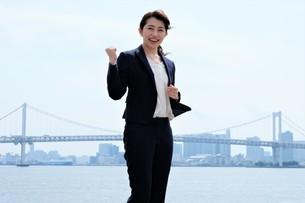 日本人ビジネスウーマンの写真素材 [FYI04619096]