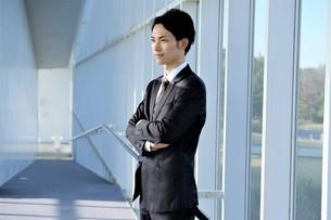 日本人ビジネスマンの写真素材 [FYI04619123]