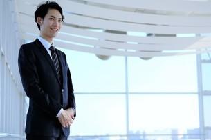 日本人ビジネスマンの写真素材 [FYI04619254]