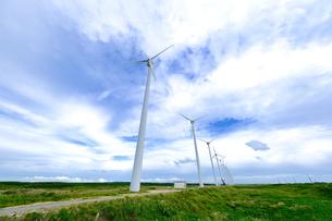 オトンルイ風力発電所の写真素材 [FYI04619381]