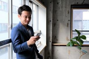 日本人ビジネスマンの写真素材 [FYI04619393]