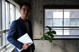 日本人ビジネスマンの写真素材 [FYI04619423]