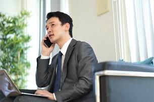 日本人ビジネスマンの写真素材 [FYI04619486]