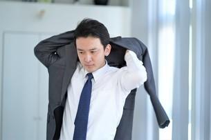 日本人ビジネスマンの写真素材 [FYI04619585]