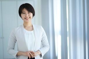 日本人ビジネスウーマンの写真素材 [FYI04619662]