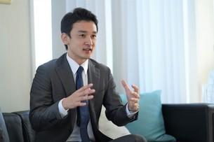 日本人ビジネスマンの写真素材 [FYI04619663]