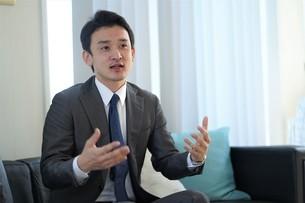 日本人ビジネスマンの写真素材 [FYI04619665]