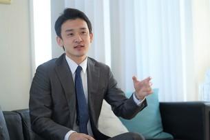 日本人ビジネスマンの写真素材 [FYI04619668]