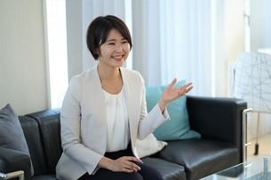 日本人ビジネスウーマンの写真素材 [FYI04619677]