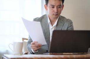日本人ビジネスマンの写真素材 [FYI04619729]