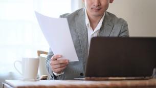 日本人ビジネスマンの写真素材 [FYI04619731]