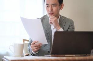 日本人ビジネスマンの写真素材 [FYI04619733]