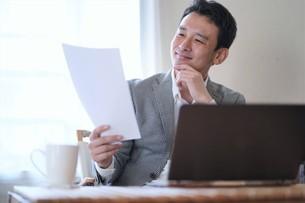 日本人ビジネスマンの写真素材 [FYI04619736]
