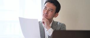 日本人ビジネスマンの写真素材 [FYI04619754]
