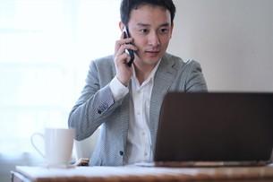 日本人ビジネスマンの写真素材 [FYI04619787]