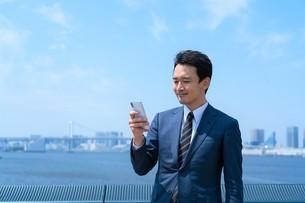 日本人ビジネスマンの写真素材 [FYI04619835]