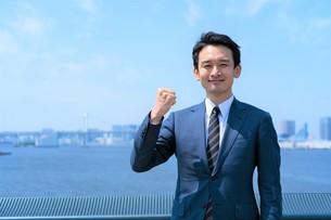 日本人ビジネスマンの写真素材 [FYI04619838]