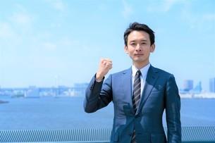 日本人ビジネスマンの写真素材 [FYI04619840]