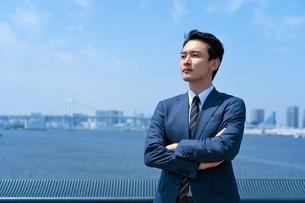 日本人ビジネスマンの写真素材 [FYI04619844]