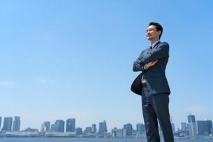 日本人ビジネスマンの写真素材 [FYI04619854]