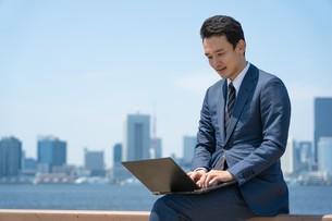日本人ビジネスマンの写真素材 [FYI04619864]