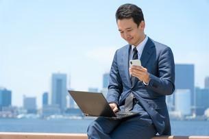日本人ビジネスマンの写真素材 [FYI04619869]
