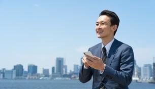 日本人ビジネスマンの写真素材 [FYI04619885]
