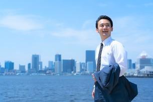 日本人ビジネスマンの写真素材 [FYI04619906]