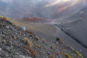 富士山 宝永山の景色の写真素材 [FYI04620235]