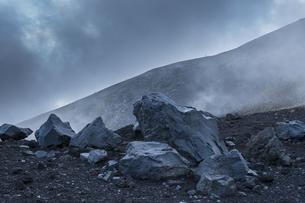 富士山 宝永山の景色の写真素材 [FYI04620237]
