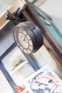 アンティークな時計の写真素材 [FYI04620400]