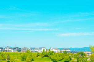 関西の住宅 三田市の住宅街の写真素材 [FYI04620457]