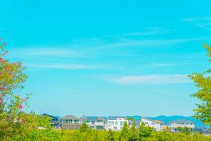 関西の住宅 三田市の住宅街の写真素材 [FYI04620458]