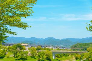 関西の住宅 三田市の住宅街の写真素材 [FYI04620460]