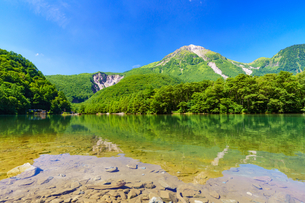 上高地大正池の写真素材 [FYI04621072]