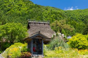 美山かやぶきの里(京都府美山町)の写真素材 [FYI04621257]