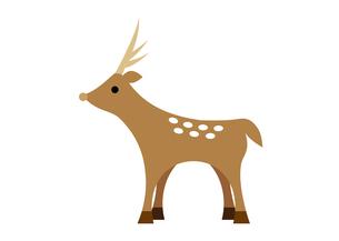 鹿のイラスト素材 [FYI04621297]