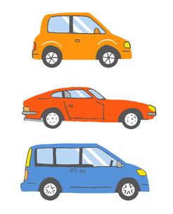 自動車3タイプ のイラスト素材 [FYI04621309]