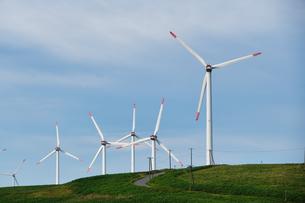 風力発電の写真素材 [FYI04621457]