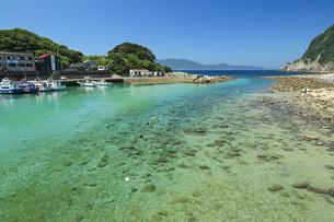 柏島の海 夏の高知県の写真素材 [FYI04621511]
